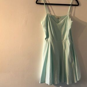 Talula mint green babydoll dress